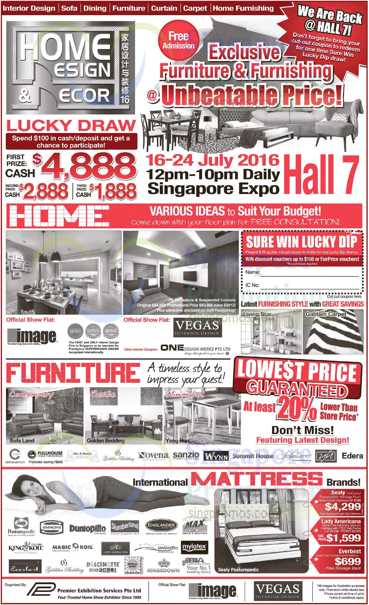 Home Design Amp Deco 2016 At Expo From 16 24 Jul 2016