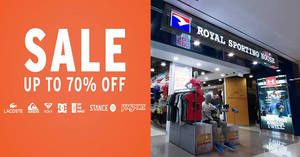 051c0e5f19 Royal Sporting House  Lifestyle Brands Sale with up to 70% off from 12 – 16  Jul 2016