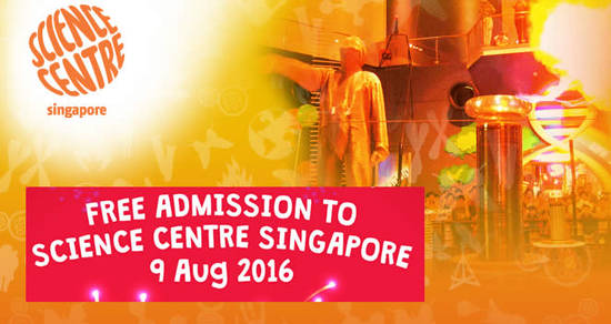 Science Centre Free Feat 28 Jul 2016