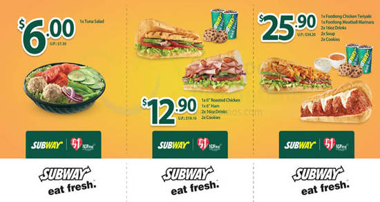 Subway NDP Coupon Feat 21 Jul 2016