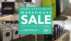 Featured image for APS Lifestyle: Home Appliances Warehouse Sale – Up to 80% Off from 26 – 28 Aug 2016