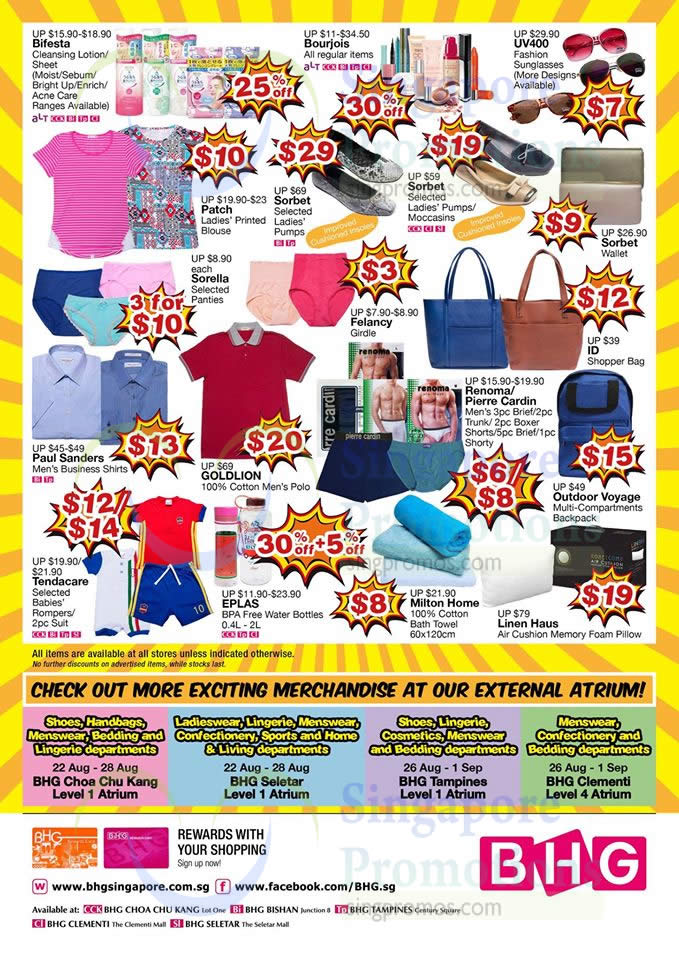 Bhg crazy bazaar 30 off reg priced items more at for Bhg shopping