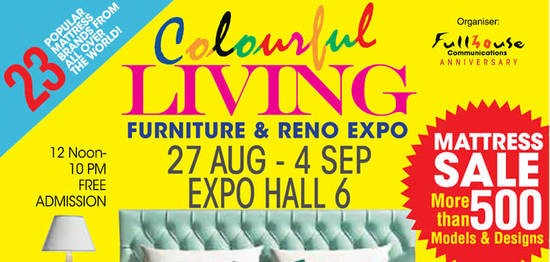 Colourful Living 2016 Feat 30 Aug 2016