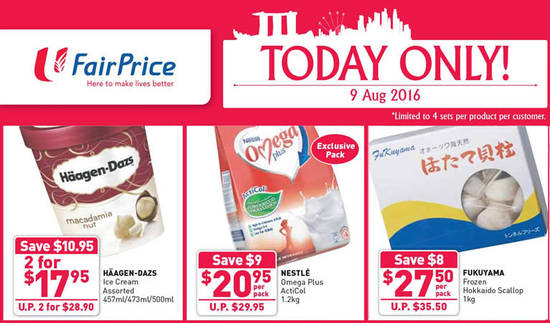 FairPrice 1Day Only Feat 9 Aug 2016
