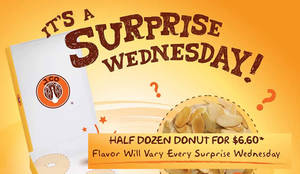 Featured image for J.CO Donuts & Coffee offers $3 off donuts at two outlets on Wednesdays from 30 Nov 2016