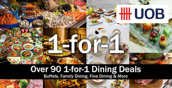UOB 1for1 Buffets 1 Aug 2016
