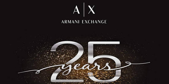 AX Armani Exchange Feat 2 Sep 2016