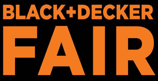 BLACKDECKER Fair Feat 30 Sep 2016