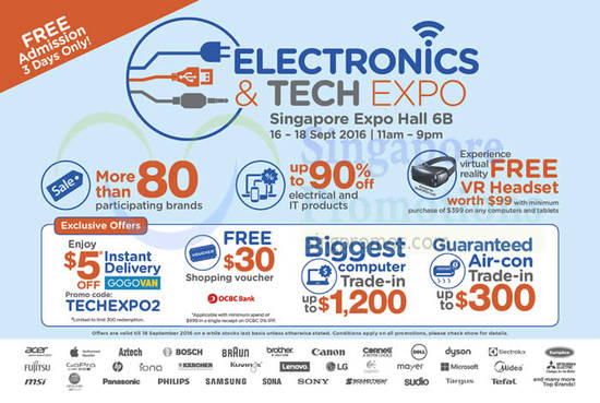 Electronics Tech Expo 8 Sep 2016