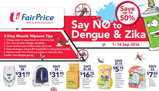 Fairprice Mosquito Insect Feat 2 Sep 2016