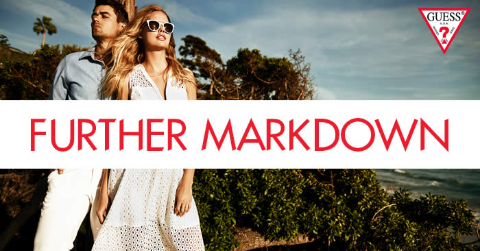 GUESS: Mid-Season Sale (Further Markdown) – Up to 70% Off from 16