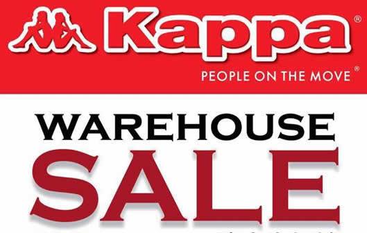KappaWarehouse Sale Feat at 7 Sep 2016