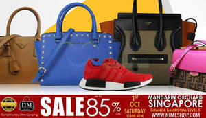 Featured image for Nimeshop: Branded Handbags Sale at Mandarin Orchard on 1 Oct 2016