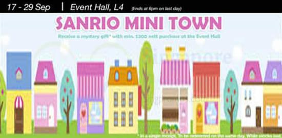 Sanrio Mini Town 12 Sep 2016
