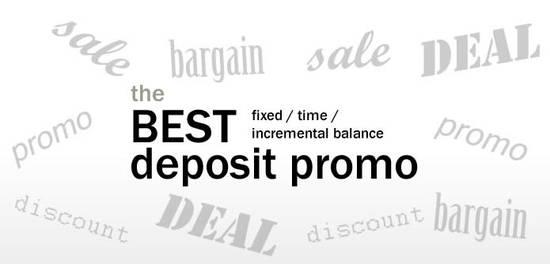 The Best Deposit 25 Sep 2016