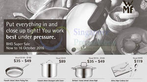 Featured image for WMF Offers at BHG from 30 Sep – 16 Oct 2016