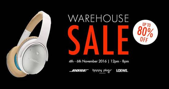 Atlas Warehouse Sale Feat 31 Oct 2016