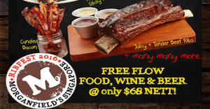 Featured image for Morganfield's Ribfest 2016: Eat-all-you-can Christmas Menu at $68 nett on 12 Nov 2016