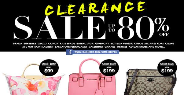 Nimeshop  Branded Handbags Sale w  Up to 80% Off at Mandarin Orchard on 6  Nov 2016 ae77b4d6ce8bd