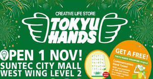 List of Tokyu Hands related Sales, Deals, Promotions & News