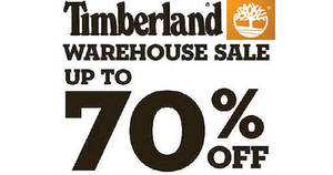 Featured image for Timberland & Vans Off the Wall Warehouse Sale w/ Up to 70% Off from 21 – 30 Oct 2016