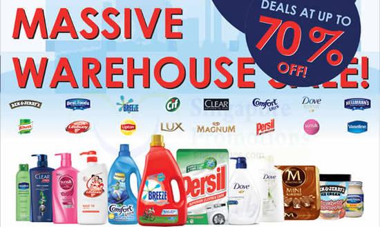 Unilever Massive Warehouse Feat 4 Oct 2016
