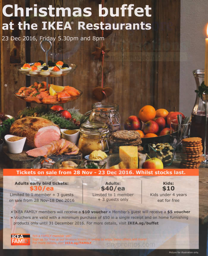 Ikea Swedish Christmas Buffet Tickets Will Be Available