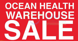 Featured image for Ocean Health's warehouse sale offers up to 70% off on health supplement products from 1 – 3 Dec 2016