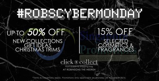 Robinsons Cyber Monday 26 Nov 2016