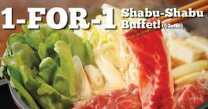 Featured image for Suki-Ya: 1-for-1 Shabu Shabu Buffet with OCBC cards (Mon – Thur) from 1 Jun – 31 Jul 2017