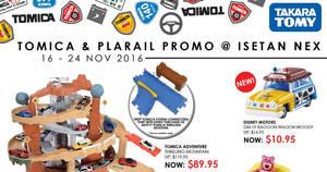 Featured image for Tomica & Plarail Fair at Isetan Nex from 16 – 24 Nov 2016