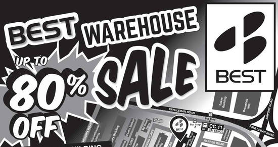 Featured image for BEST Denki warehouse sale returns with discounts of up to 80% off from 7 - 13 Dec 2016