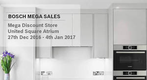 Featured image for Bosch Mega Sale at United Square from 27 Dec 2016 – 4 Jan 2017