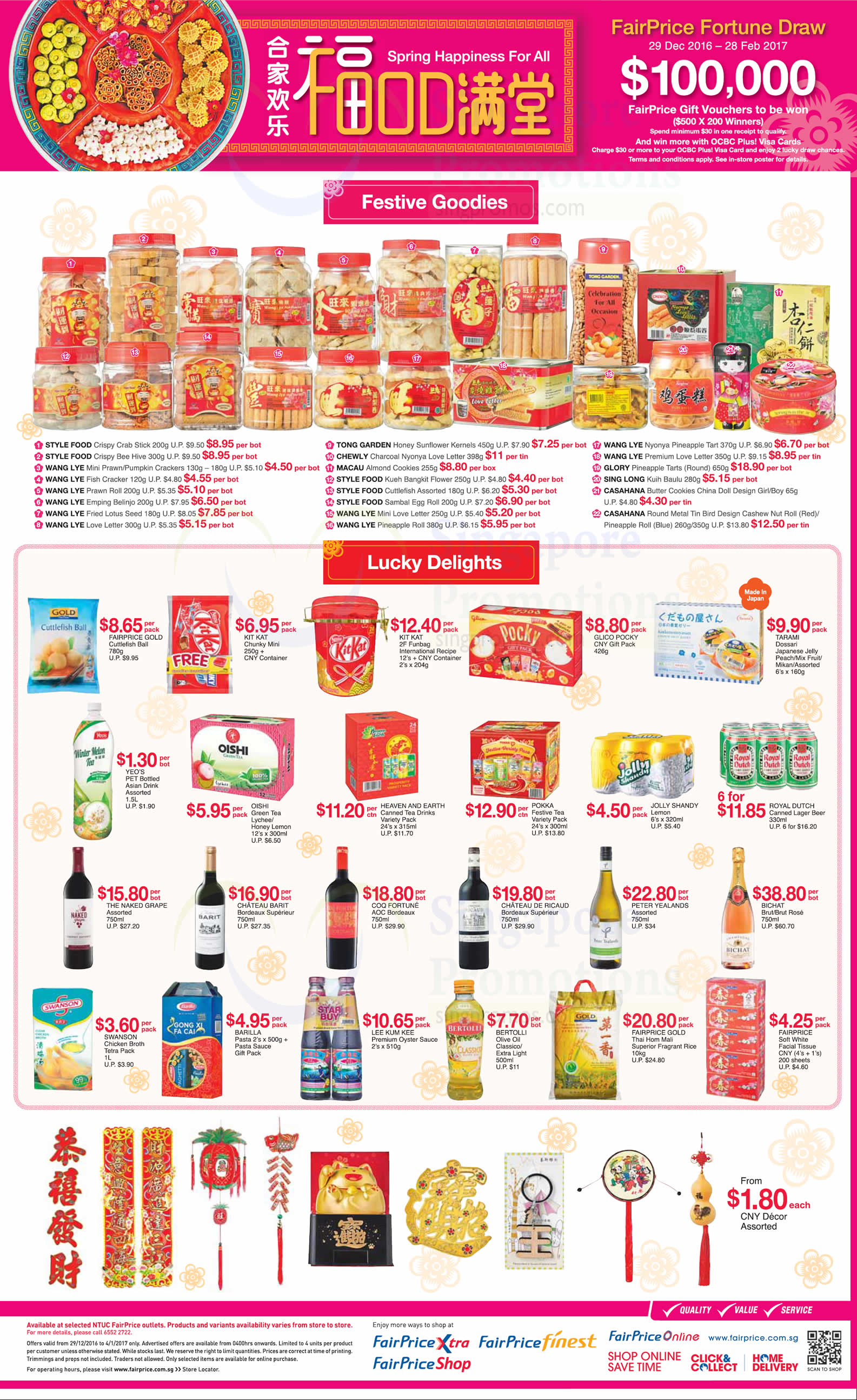 Fairprice latest offers features many abalone offers ...