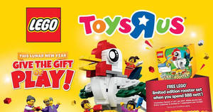 """Featured image for LEGO 2017 launch carnival by Toys """"R"""" Us at VivoCity from 2 Jan 2017"""