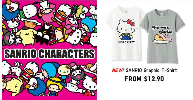 bf8dfa05 Uniqlo launches new Sanrio Gudetama & Pompompurin themed UT Graphic T-shirts  from 12 Dec 2016