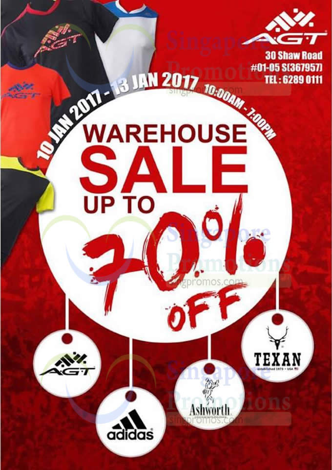 1e80a206907 A.G.T Marketing warehouse sale offers up to 70% off adidas, Ashworth ...