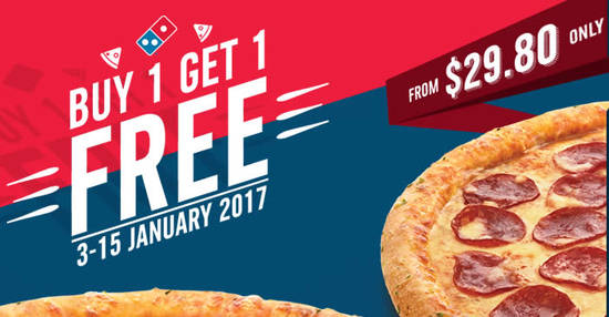 Dominos Pizza feat 3 Jan 2017