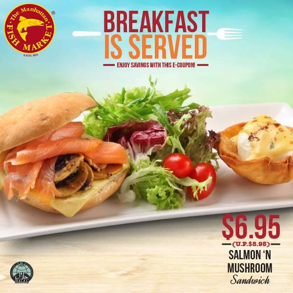Manhattan fish market weekend breakfast coupons valid at for Closest fish market
