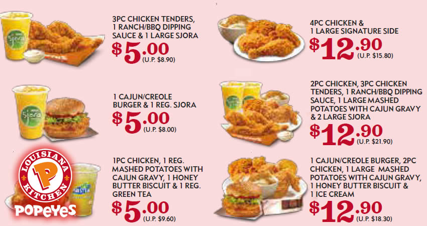 Discounts average $8 off with a Popeyes promo code or coupon. 17 Popeyes coupons now on RetailMeNot.