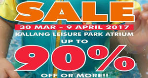 Featured image for Liferacer Swim Wears up to 90% off AS-IS sale at Leisure Park Kallang from 30 Mar – 9 Apr 2017