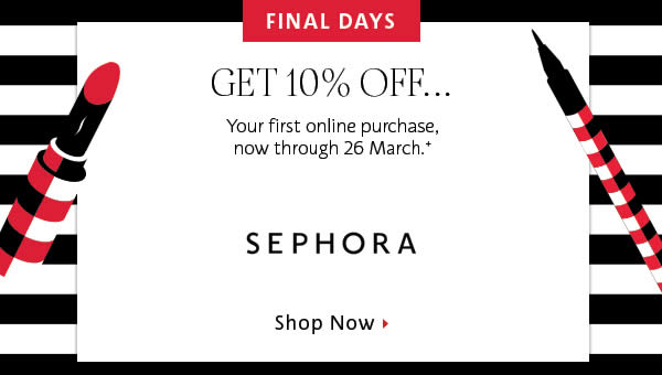 Today's top Sephora Coupons: $25 Off $75 for Rouge. See 40 Sephora Coupons and Promo Code for December App Login or Register, Deal Alert. Now the discount in other places are much better than Sephora. // @Anonymous: Weak discounts. I'm leaving Sephora. By Anonymous, 6 days ago.