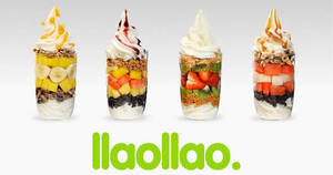 llaollao's third outlet is now open at Suntec City from 22 Sep 2018