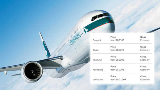 Cathay Pacific 11 Apr 2017