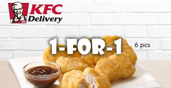 KFC Delivery 4 Apr 2017