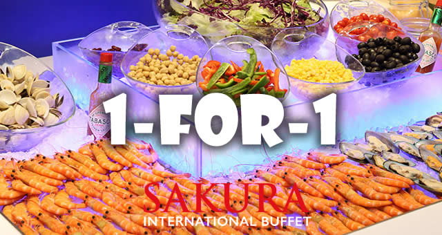 Cool Sakura International Buffet 1 For 1 Dinner Buffet With Dbs Home Remodeling Inspirations Gresiscottssportslandcom