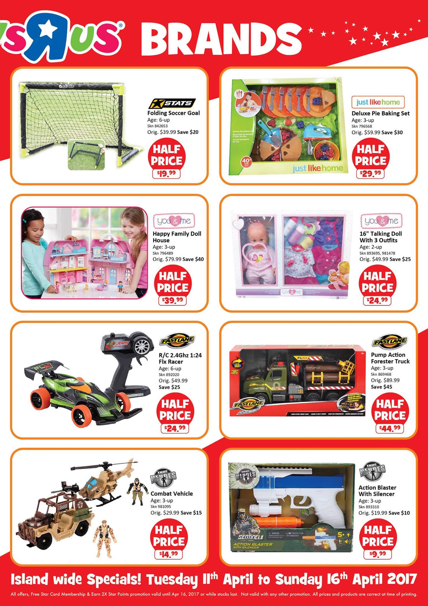 "All Toys Toys R Us : Toys ""r us half price offers more at all stores from"
