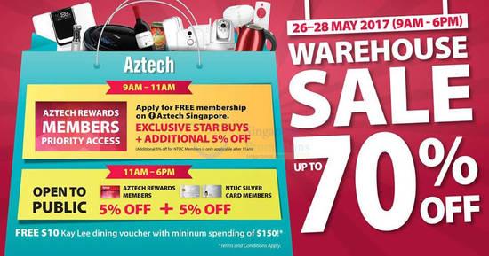 Aztech warehouse sale feat 16 May 2017