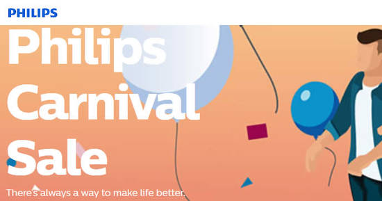 Philips Carnival Sale feat 4 May 2017