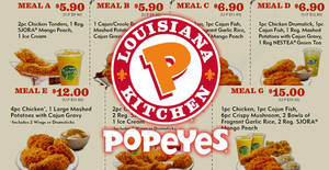 Featured image for Popeyes: Discount coupon deals valid from 30 May – 10 Jul 2017